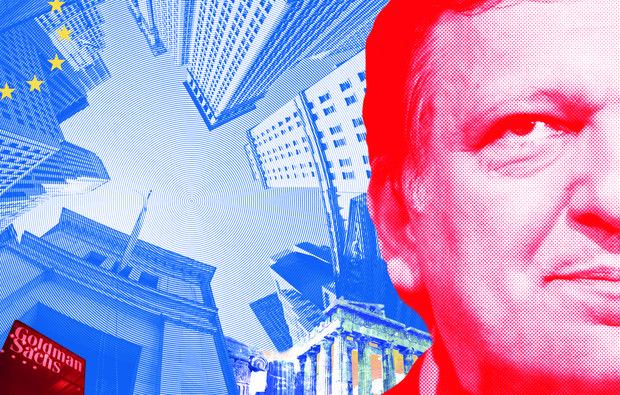 Para muitos, a Goldman Sachs personifica o que há de pior – e mais imoral – no capitalismo e na maior praça financeira do mundo. A história do banco de investimento que contratou Durão Barroso alimenta teorias da conspiração, mete ganância e jogos de poder, dinheiro a rodos, escândalos e escrúpulos q.b., arrependidos, denunciadores, cassetes secretas e até prostitutas contratadas para sacar negócios
