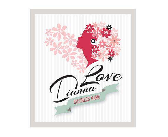 Premade Logo Design  Heart Logo  Photography Logo by GraphicNStyle
