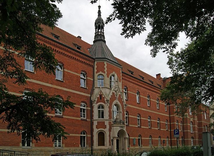 StJohn Grande Hospital (Merciful Brother's Order), 1898-1901, designed by arch. Teodor Talowski, 3-11 Trynitarska street, Kazimierz