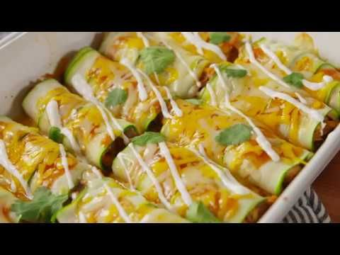 Best Zucchini Enchiladas Recipe - How to Make Zucchini Enchiladas