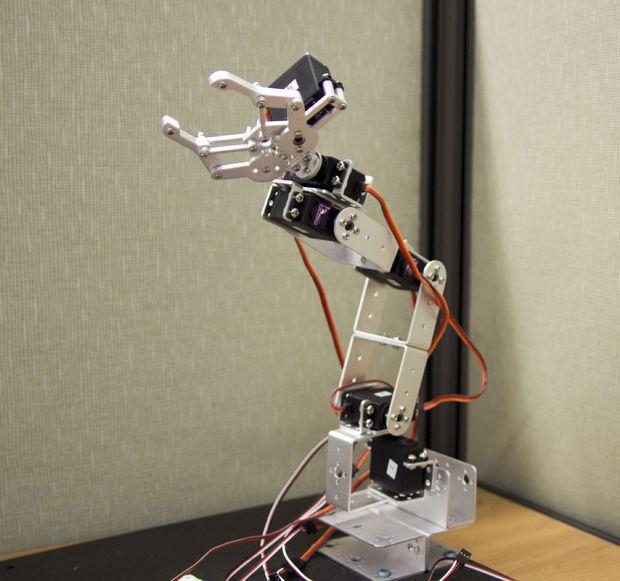 Robot Arm Arduino App