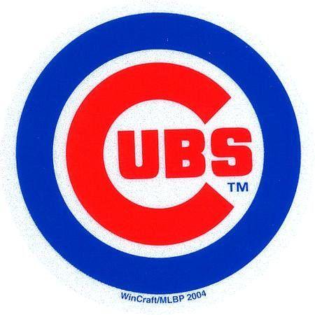 Chicago Cubs - Logo Reflective Decal