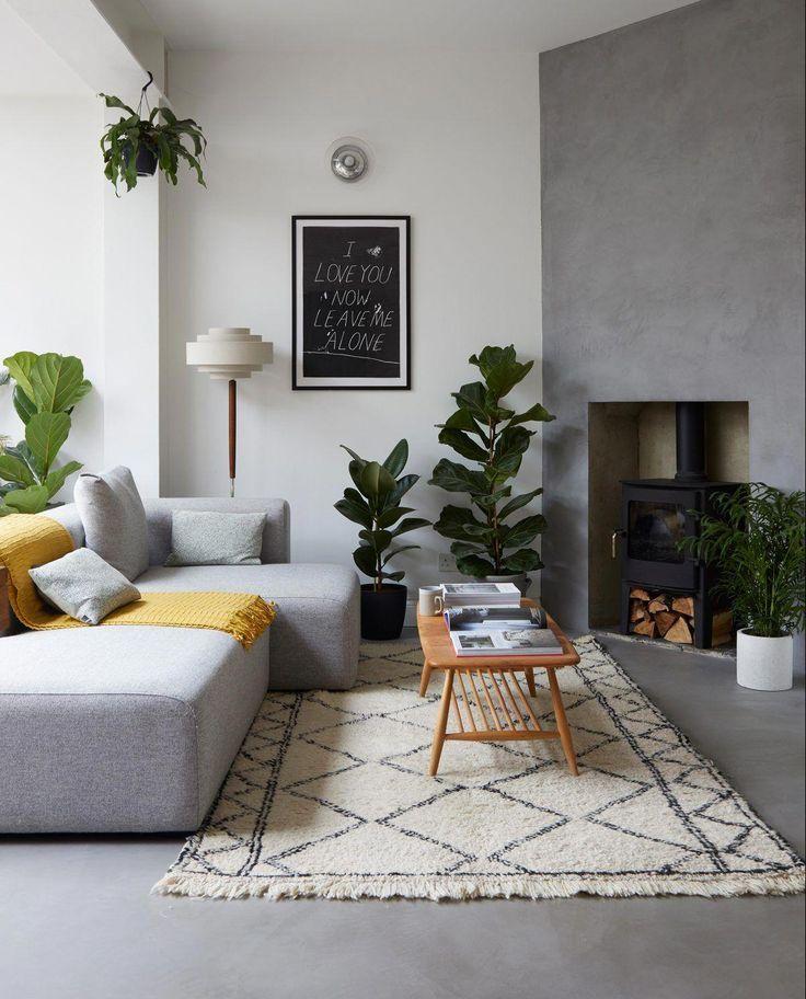 House Tours Scandi Cool 10 Livingetc Kitcheninteriordesignideas Living Room Scandinavian Scandinavian Style Home Open Plan Living Room