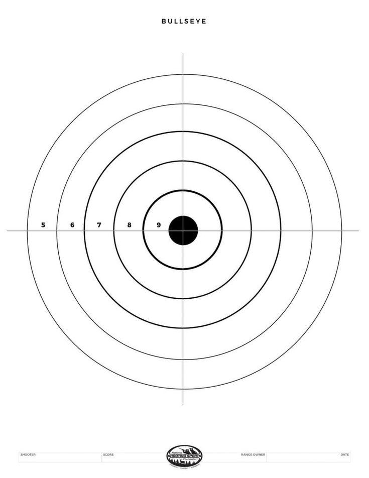 This is an image of Comprehensive Printable Bb Gun Targets