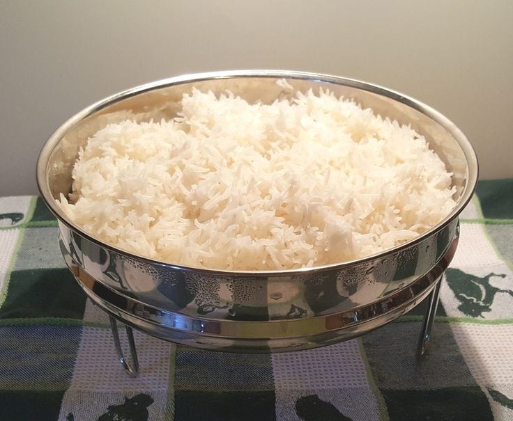 Instant Pot Pressure Cooker Perfectly Cooked Pot In Pot Rice via @thisoldgalcooks