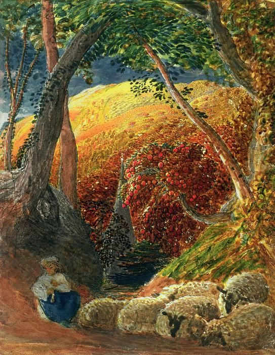 The Magic Apple Tree Painting by Samuel Palmer