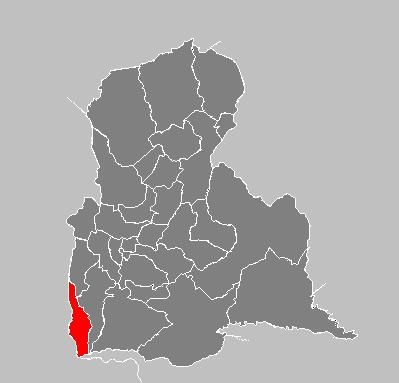 Ubicación geográfica Municipio Rafael Urdaneta - Delicias, Estado Táchira