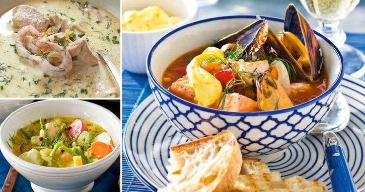 Recept på 7 goda fisksoppor!
