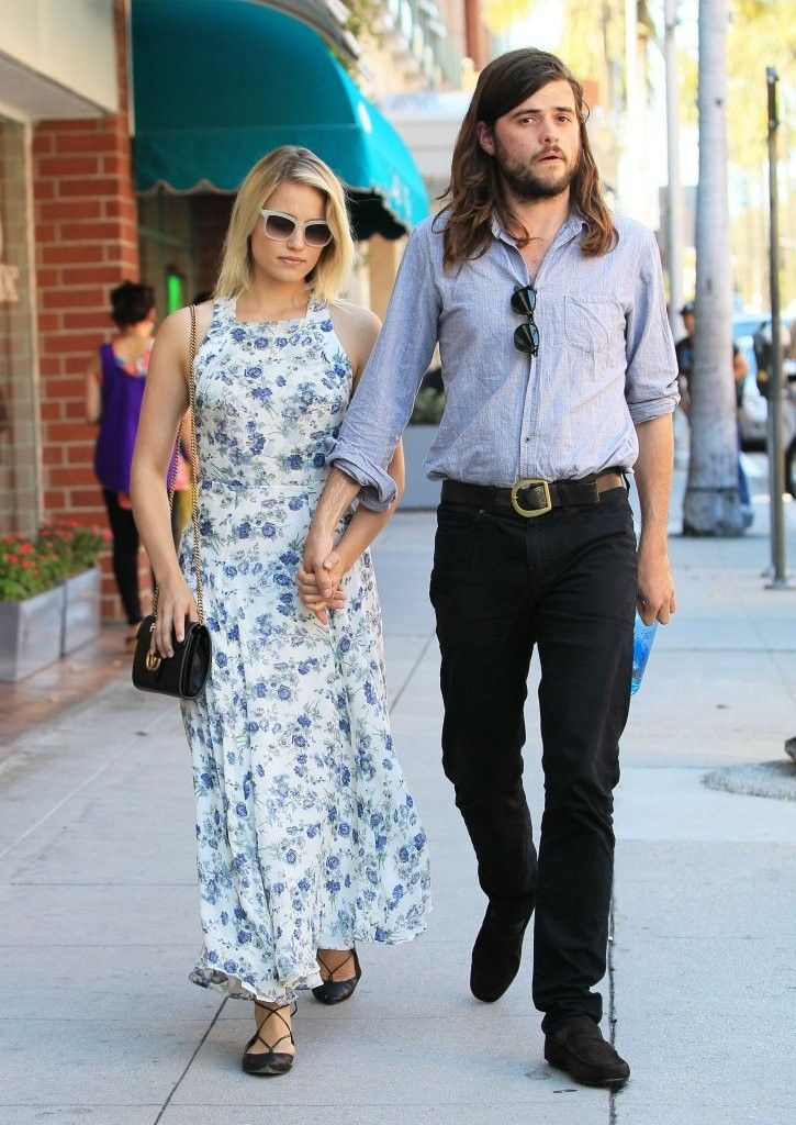 Dianna Agron & Winston Marshall Out and About in Beverly Hills