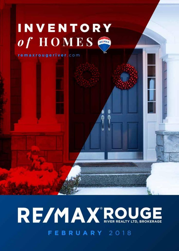 RE/MAX Rouge River 'Inventory of Homes' - February 2018