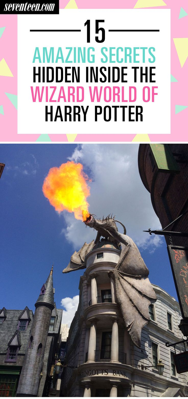 15 Amazing Secrets Hidden Inside The Wizarding World of Harry Potter