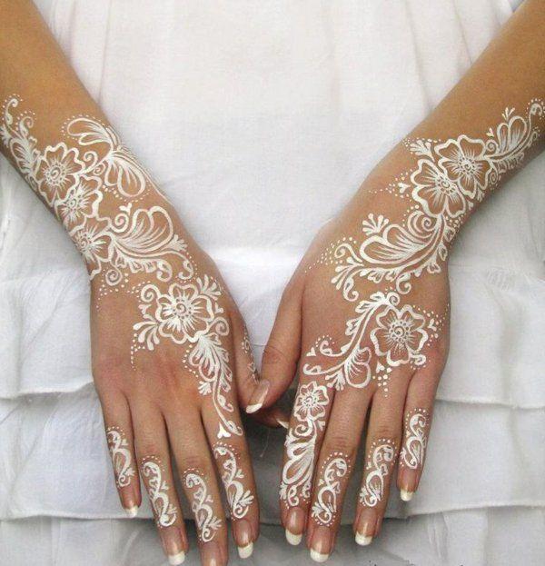 Tatouage henné - idées créatives