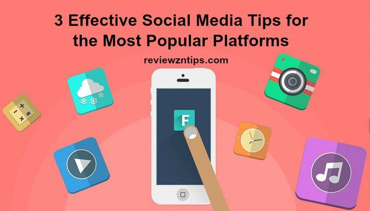 Here are three effective social media tips for the most popular networks out there: Twitter, Facebook and Pinterest.