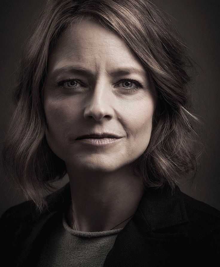 Jodie Foster by Andy Gotts.