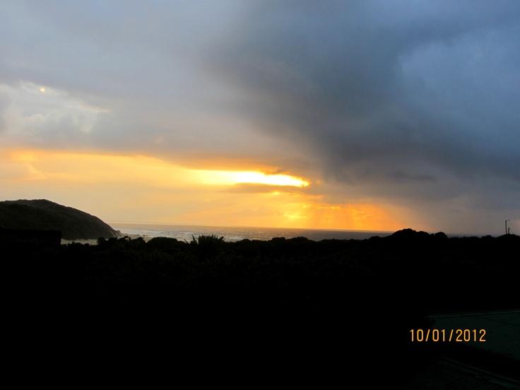 Kenton-on-sea sunset