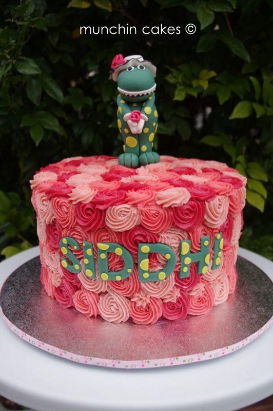 Dorothy the Dinosaur Cake