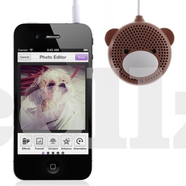 Audio Mini Stereo Speaker - Audio speaker can be charged using PC with USB cable, or by a charger;Battery can be used repeatedly for about 500 times #speaker #audio #music #cellphone #cellz.com #accessories $5.63