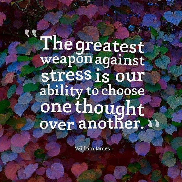Stress = Choice
