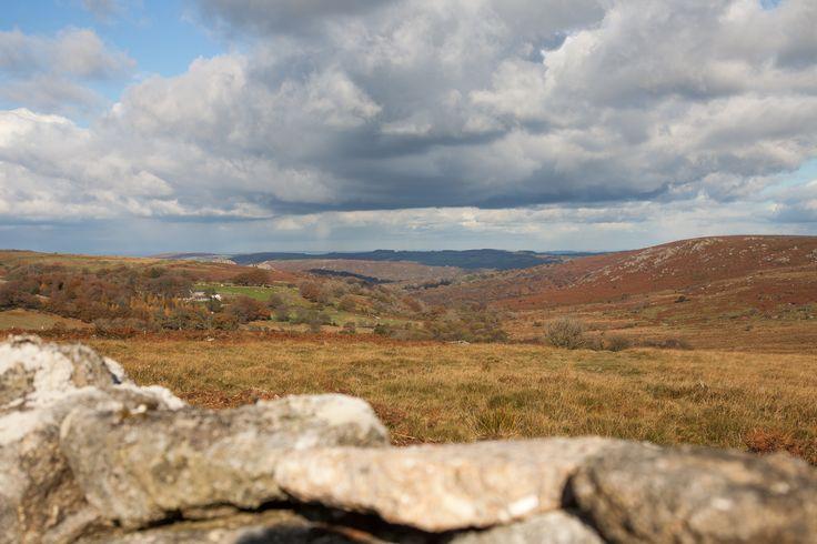 Autumn day Dartmoor Devon
