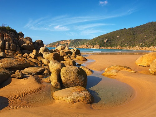 Fairy Cove, wilson's prom. Been here twice but would love to go again!