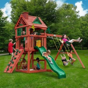 Gorilla Playsets Nantucket Cedar Playset 01-0021 at The Home Depot - Mobile