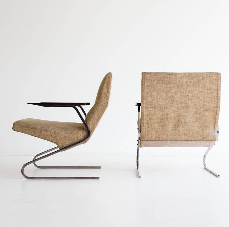 Georges van Rijk  Cantilevered Armchairs for Beaufort  c1955  Famous  ArchitectsChairSpace  414 best Furniture  images on Pinterest   Lounge chairs  Chairs  . Famous Architect Chairs. Home Design Ideas