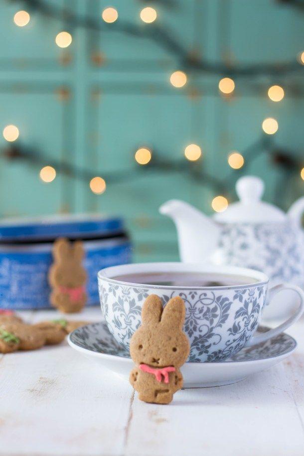 Conejitos de Jengibre: Galletas de Jengibre con Melaza Tableware, Desserts, Blog, Cakes, Gingerbread Man, Gingerbread Cookies, Deserts, Sweet Recipes, Meals