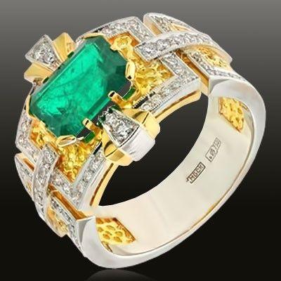 Изумруд+бриллианты  - Итоговая цена обсуждается индивидуально