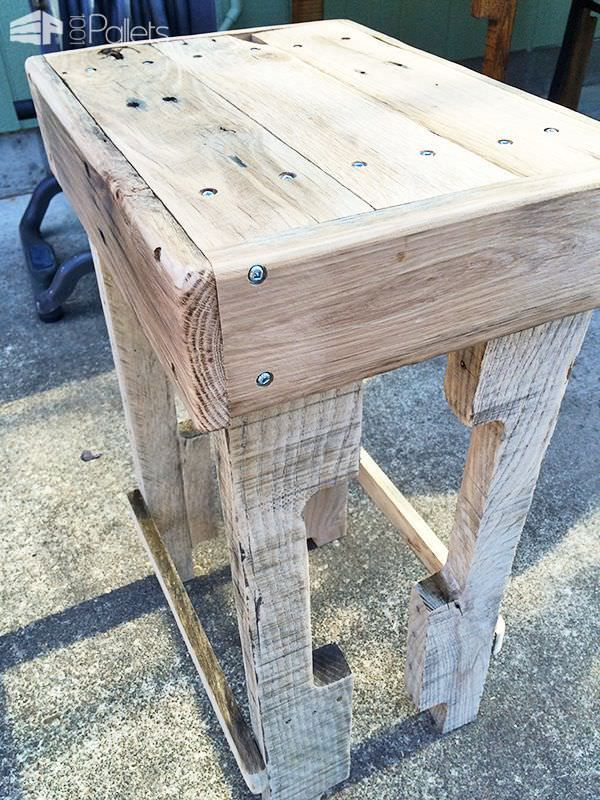 Rustic Pallet Bar Stools & Best 25+ Pallet bar stools ideas on Pinterest | Pallet stool Wood ... islam-shia.org