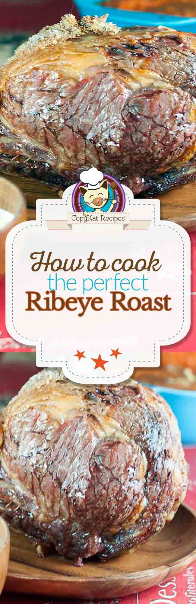 I love this tutorial for How to Cook a Ribeye Roast. So yummy sounding.