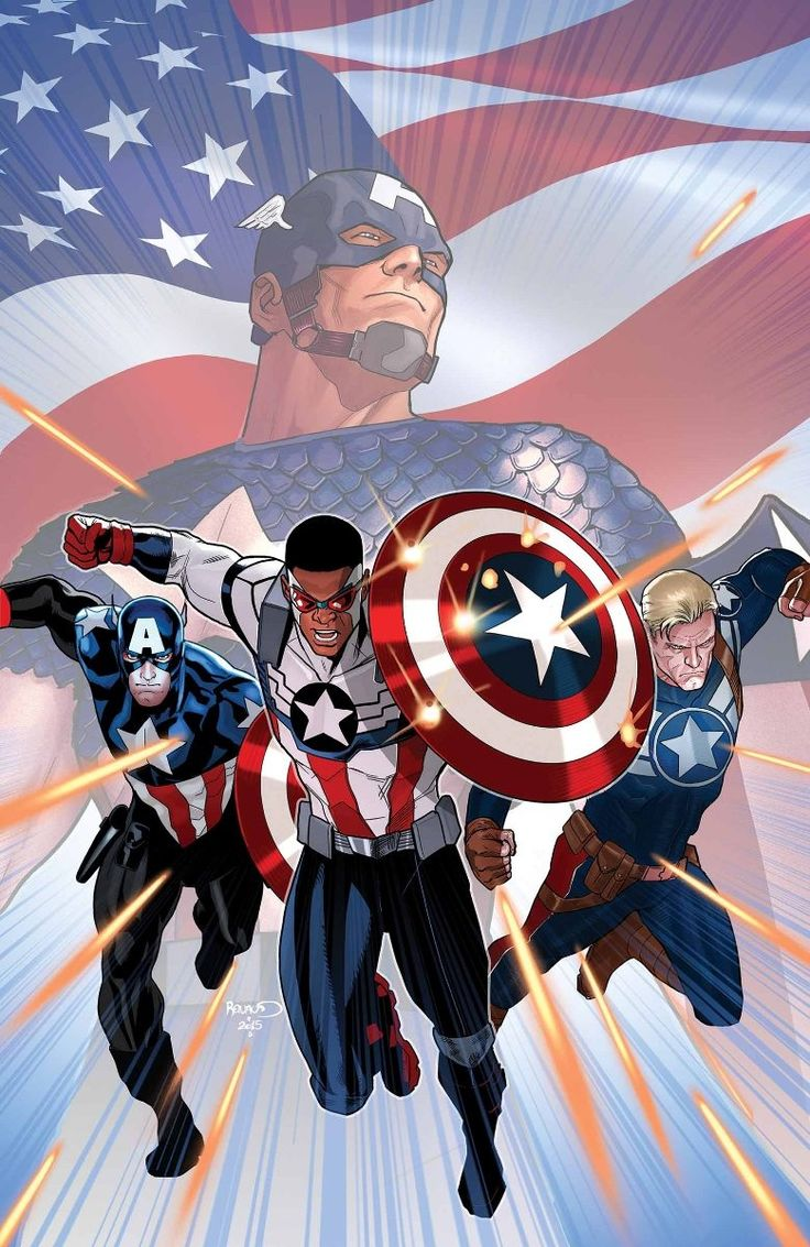 CAPTAIN AMERICA: SAM WILSON #8 NICK SPENCER (W) • PAUL RENAUD (A/C) CIVIL WAR VARIANT COVER BY TBA A STANDOFF tie-in! • Captain America Unite! Sam Wilson, Steve Rogers, and Bucky Barnes team up for a.........!!!!