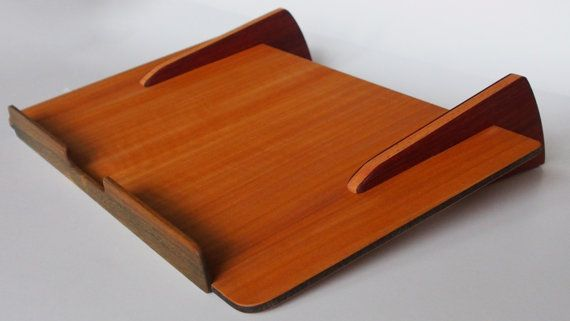 Laptop Stand Practical, beautiful office accessory. #design #laptop stand #computer stand #want #cool
