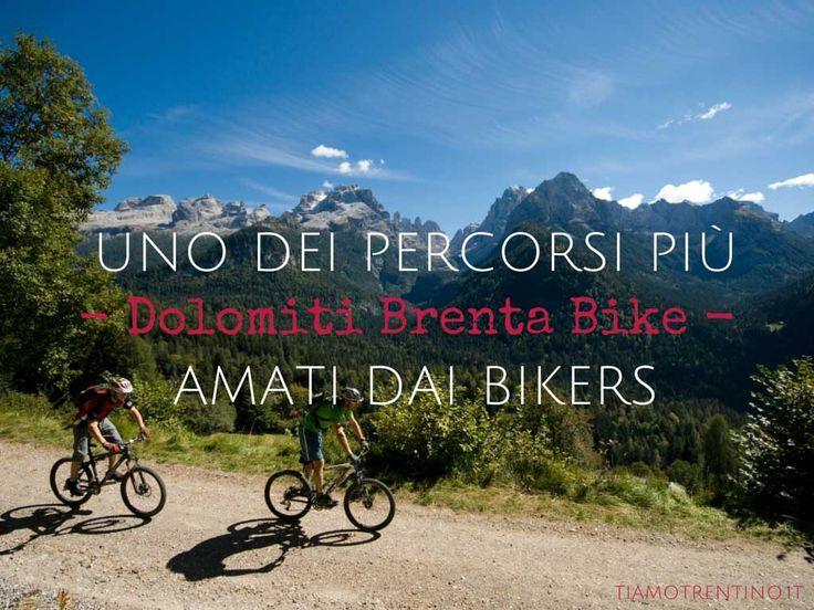 Uno dei #percorsi più amati dai #bikers? Il #Dolomiti #Brenta #Bike