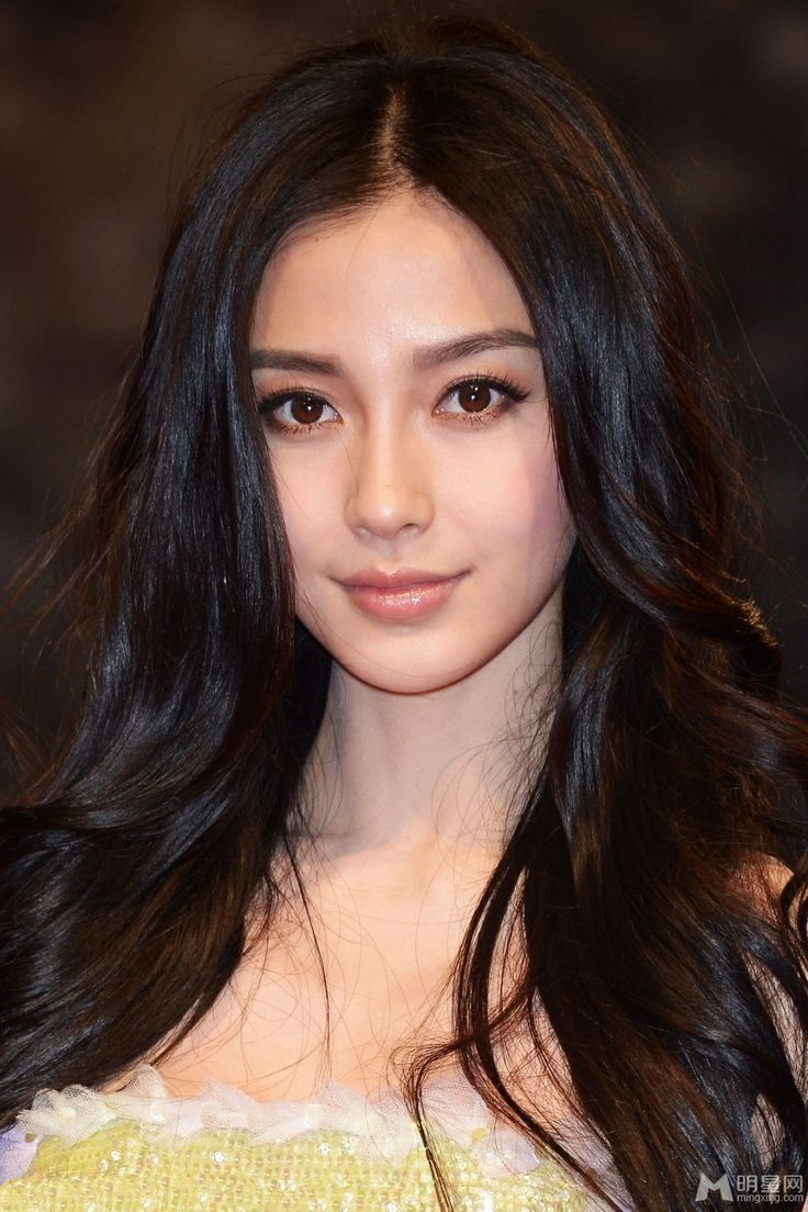 asian makeup: vertical gradient (neutral shadow darker near the lashes, lighter to the brow), darker eyeliner on top lid, brown neutral liner bottom lid; BB cream for dewy skin, pinkish blush, MLBB color