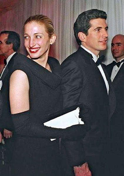 Carolyn Bessette Kennedy & John F Kennedy Jr CBK & JFK Jr