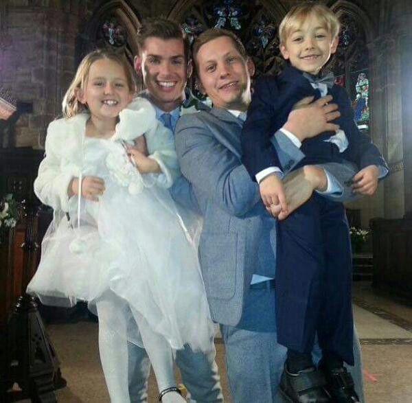 Perfect Family and Wedding #McHay  #Hollyoaks @thejamessutton @MrkieronR