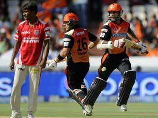 आईपीएल 7: तेज शुरुआत के बाद सनराइजर्स को दो झटके #IPL7   #SRHvsKxiP   #CricketNews