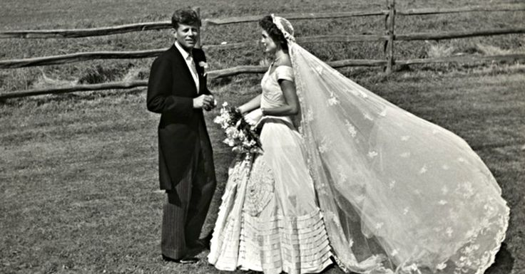 The Wedding Of Jackie Bouvier And John Kennedy In Photos, 1953