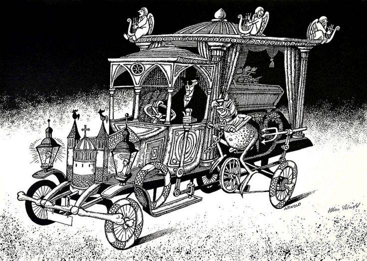 Hans Arnold illustration