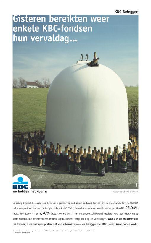 Fondsen op vervaldag. KBC Asset Management. Print (2005).
