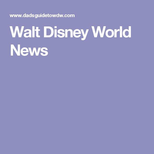 Walt Disney World News
