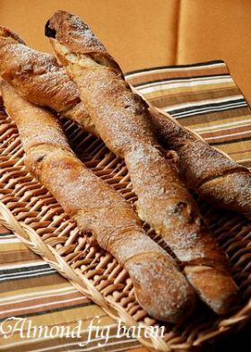 「アーモンドフィグ・バトン」いたるんるん | お菓子・パンのレシピや作り方【corecle*コレクル】