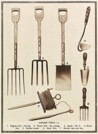 Thad mentioned nice garden tools as something he would like