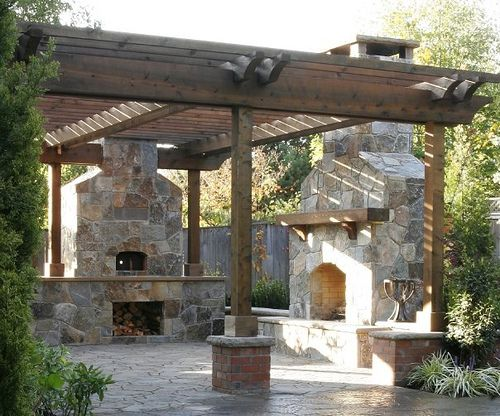 outdoor pergola rustic | Rustic Outdoor Lifestyle | Flickr - Photo Sharing!