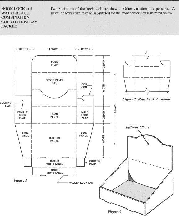 Hook Lock and Walker Lock Combination Counter Display Packer