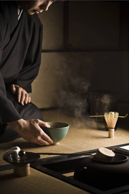 Japanese Tea Ceremony Have set from Yoshi   ....   ctc