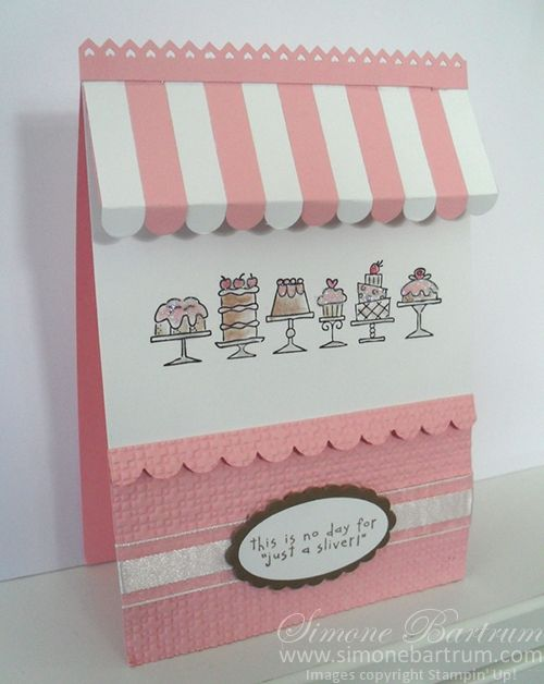 16 Creative Card Making Ideas Decorating Part - 23: Simone Bartrum - Birthday Bakery Card