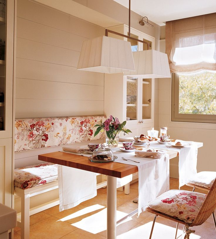 Best 25 small dining ideas on pinterest small dining - Cojines para sillas ...