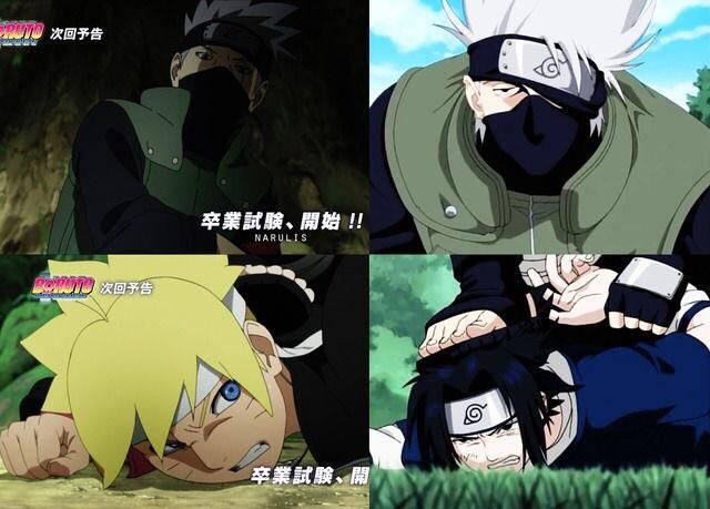 Preview of Boruto episode 36 compared to Naruto episode 5 I cant wait til next week!