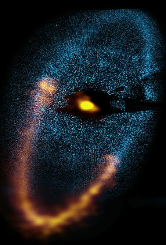 ~~Dust ring around Fomalhaut from ALMA | Fomalhaut is the brightest star in the constellation Piscis Austrinus and one of the brightest stars in the sky | wikipedia~~